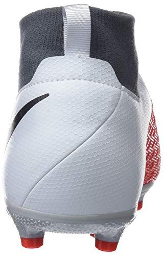 NIKE Unisex Kids  Jr Obra 3 Academy Df Mg Footbal Shoes  Gold  Pure Platinum Black Lt Crimson 060   2 5 UK