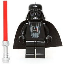 LEGO Star Wars - Figura de Darth Vader (inspección imperial) con espada láser