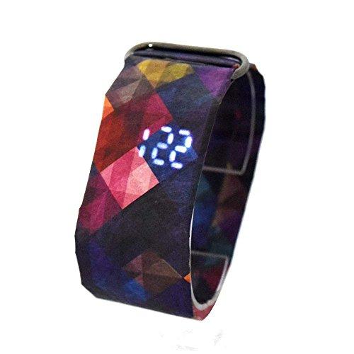 BanboYohi Smart LED Wasserdichte Papieruhr