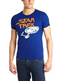 Logoshirt Star Trek Starship Royal  Logo Men's T-Shirt royal