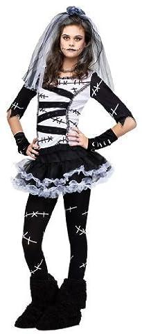 Frankenstein Fille Costume - 5 Pièces Filles & Adolescent Mort Fiancée