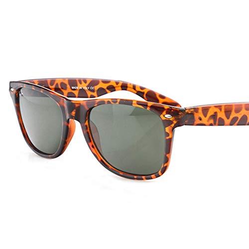 ZMK-720 Sonnenbrillen Mode Sonnenbrillen Männer Und Frauen Sonnenbrillen Sonnenbrillen Uv-Sonnenschirm @ Leopardenmuster Dunkelgrün