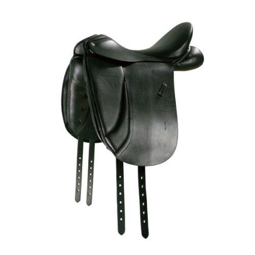 PFIFF Dressursattel Gino, schwarz 17,5 KW2
