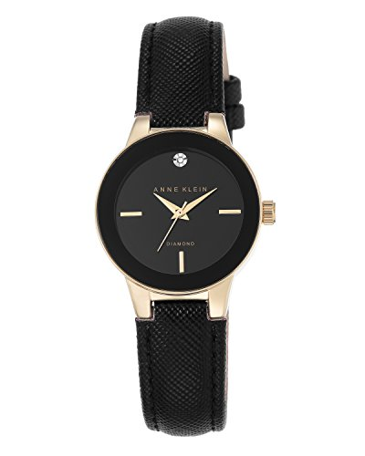 anne-klein-womens-chloe-quartz-watch-with-black-dial-analogue-display-and-black-leather-strap-ak-n25