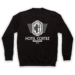 American Horror Story Hotel Cortez Adults Sweatshirt, Black, Large