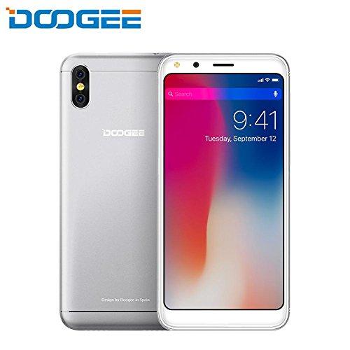 DOOGEE X53 3G Smartphone, 5,3 Zoll, Doppel-SIM-Telefon, MT6750T Quad-Core, 1 GB RAM + 16 GB ROM, 5MP + 5MP Double Camera Arrière, Android 7.1