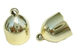 24 gélules taille s Foulard extrémités dorées breloques pendentifs acrylique Écharpe accessoire
