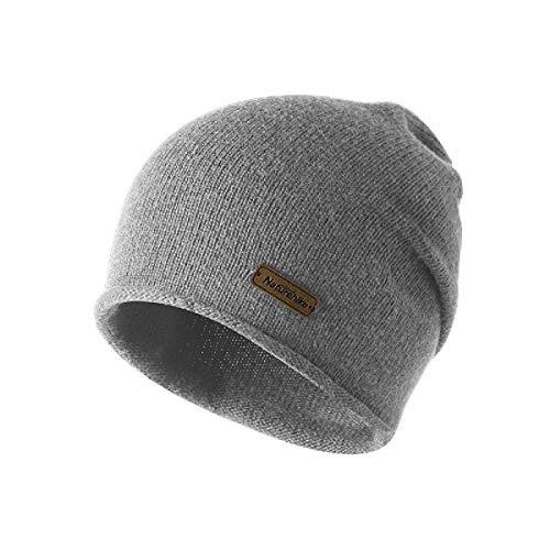 TRIWONDER Winter Knit Beanie Skull Cap Wolle warme Slouchy Hut Watch Hut Männer Frauen (Grau) -