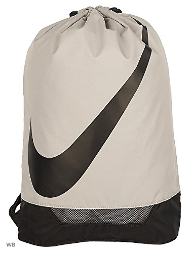 Imagen de nike fútbol 3.0gymsack gris/negro cordón bolsa de deporte  gimnasio saco de fútbol nuevo alternativa
