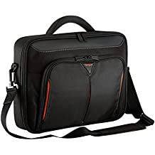 "Targus CN415EU - Maletín para portátil de 15 a 15,6"", color negro y rojo"