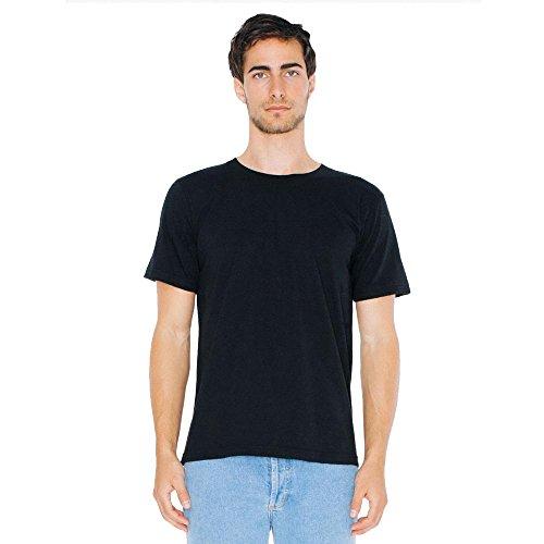 American Apparel - Unisex Fine Jersey T-Shirt Black