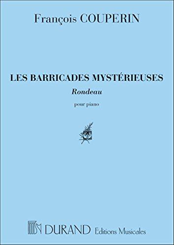 Barricades mystèrieuses - Piano