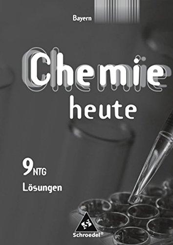 Chemie heute SI - Ausgabe 2006 für Bayern / naturwissenschaftlicher Zweig: Lösungen 9 - 9 Zweig