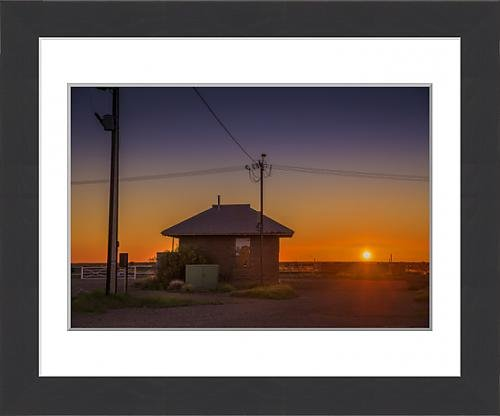 framed-print-of-sunset-at-parachilna-outback-south-australia