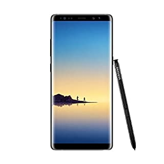 "Samsung Galaxy Note8 - Smartphone Libre de 6.3"" (Android, 4G, WiFi, Bluetooth, Exynos 8895 Octacore 2.3 GHz + 1.7 GHz, 6 GB de RAM, cámara Dual de 12 MP, Dual-SIM, 64 GB) [Versión española] Negro (B074WJCXV4) 