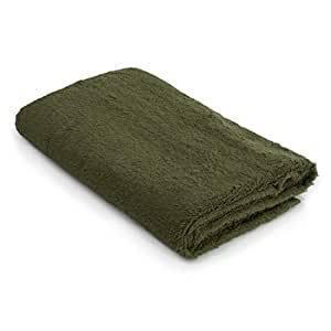 Harbormill Cotton Bath Towel, Green
