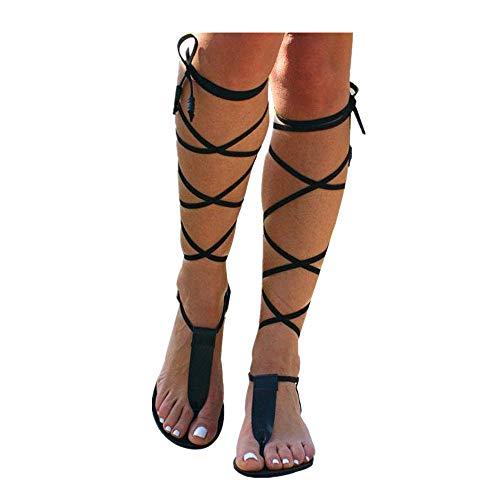 Alaso - Sandalias de piel para mujer