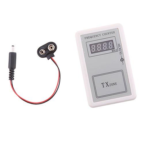 Gazechimp Detector de Contador Digital de Señal de Frecuencia de Control Remoto Portátil