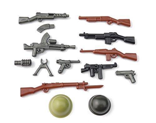 BrickArms WW2 WWII Pacific Set Armas Custom Armas