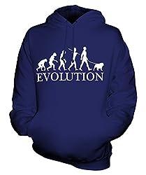 Candymix - Bulldog Evolution Of Man - Unisex Hoodie Mens Ladies Hooded Sweater