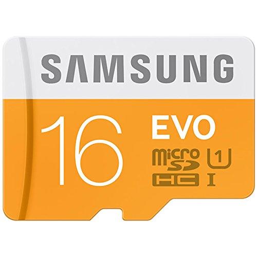 Samsung EVO 16GB Class 10 Micro SDHC Memory Card