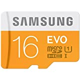 #6: Samsung EVO Class 10 16GB MicroSDHC 48 MB/S Memory Card without SD Adapter (MB-MP16D/IN)