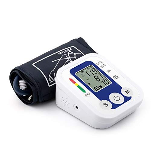 Zywtrade Blutdruckmonitor Automatische Digitale Blutdruckkelle, Tragbar und perfekt für den Heimgebrauch,Blue