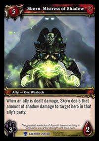 Skorn, Mistress of Shadow - Heroes of Azeroth - Rare [Toy]   Produits De Qualité