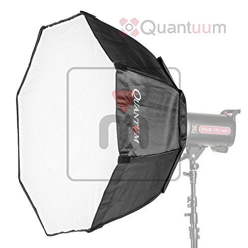 MMPix Quantuum Softbox deep 95cm ottagonale con anello bowens per flash da studio doppio diffusore octa deep