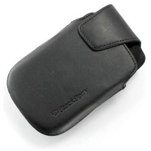 GSM Gürtel aus Leder für BlackBerry 99009930Schwarz