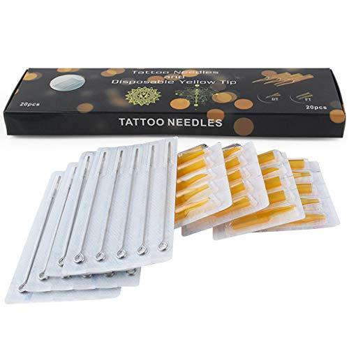 Professionelle Einweg-kit (Tattoo Nadel Werkzeug Kit Einweg 20er + 20er Jahre Professionelle Einsteiger (Color : 1205RL-5RT))