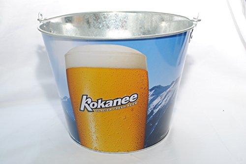 kokanee-glacier-fresh-beer-beer-bucket-galvanised-tin-with-handle