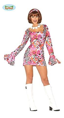 sexy kurzes Hippie Kleid für Damen Gr. M/L, Größe:M/L