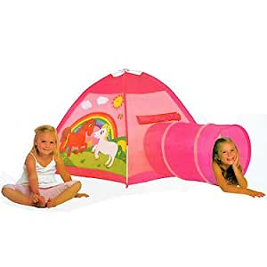 lovely pony tente de jeu et tunnel hauteur 94cm import royaume uni jeux et jouets. Black Bedroom Furniture Sets. Home Design Ideas