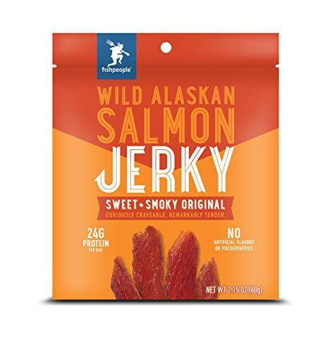 Dei - salmone selvaggio dell'alaska wildky sweet + smoky original - 2.15 once