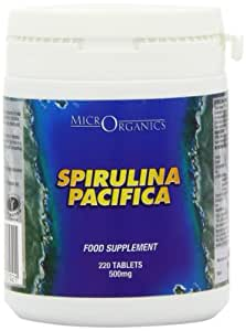 Microrganics Spirulina Pacifica Spirulina - Pack of 220 Tablets