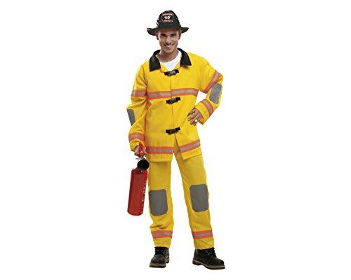 My Other Me - Maschera Uomo L Pompiere Giallo