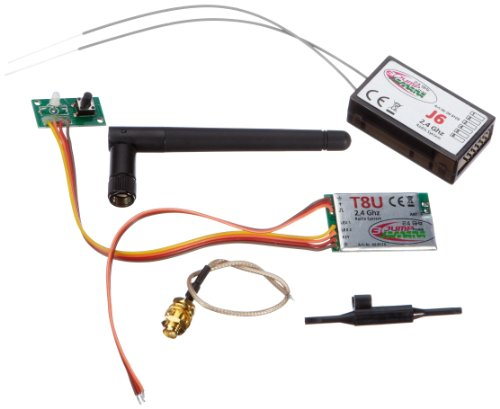 Jamara 66117 HF-Modul Set, 2,4 GHz Jump T6MX-12/16 - Set para radio control importado de Alemania