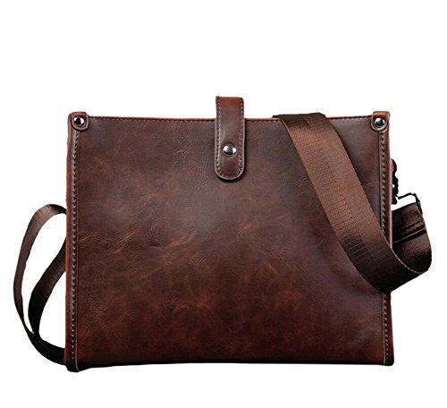 PU-Leder Mehrzweck Handtasche Schulter Beutel Business-Kuriertasche der Herren