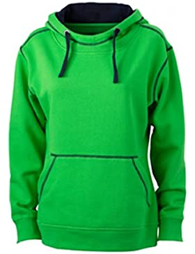 James & Nicholson Damen Sweatshirt Kapuzensweatshirt Ladies' Lifestyle Hoody