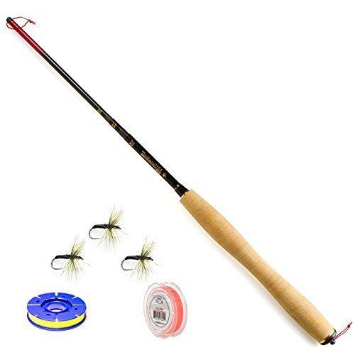 TENKARA USA Rhodo 8'25,4cm auf 25,4cm Länge 15,2cm Fliegenrute, Line, Fliegen, Spule Set by TENKARA USA