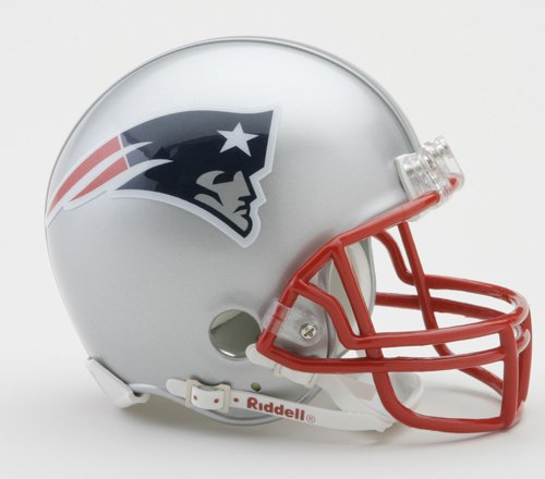 NFL Riddell Football Mini-Helm New England Patriots (Tom Brady Helm)