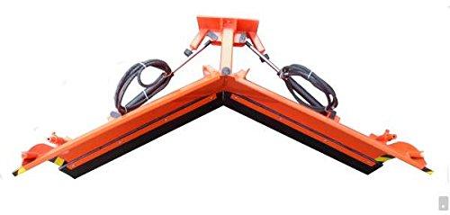 Universal Vario Schneeschild V 200 cm hydraulisch Schneeschieber Winterdienst