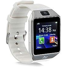 Smartwatch con Whatsapp,Bluetooth Smart Watch Pantalla táctil,Reloj Inteligente Hombre,Impermeable Smartwatches