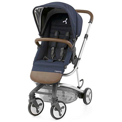 BabyStyle Hybrid City Stroller, Simply Navy  Baby Style UK