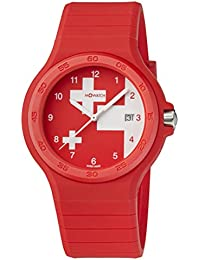 M-WATCH Maxi 42 Analog Red Dial Men's Watch-WYO.15234.RC
