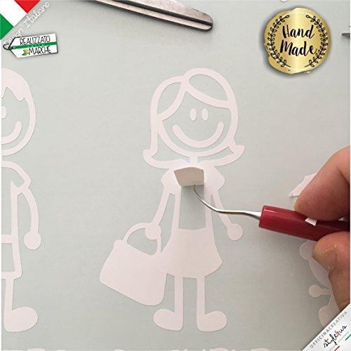 Zoom IMG-3 adesivi personalizzati famiglia