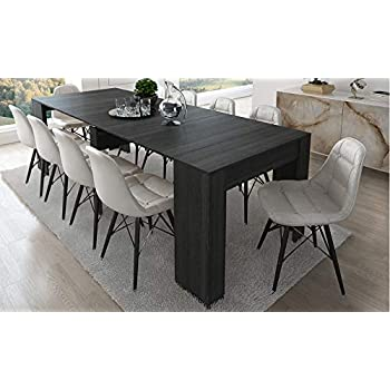 Home Innovation Table Console Extensible Rectangulaire Avec