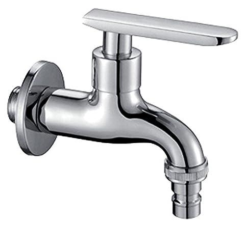 FHLYCF 4 le cuivre le cuivre chrome robinets machine tap froid mop piscine piscine balcon robinet avec contrôle unique unique de traiter,un
