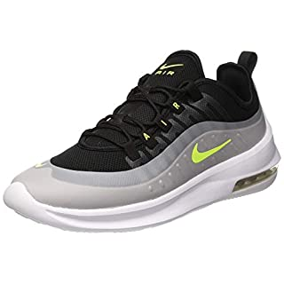 NIKE Men's Air Max Axis Running Shoes, (Black/Volt/Wolf Grey/Anthracite 004), 8 UK